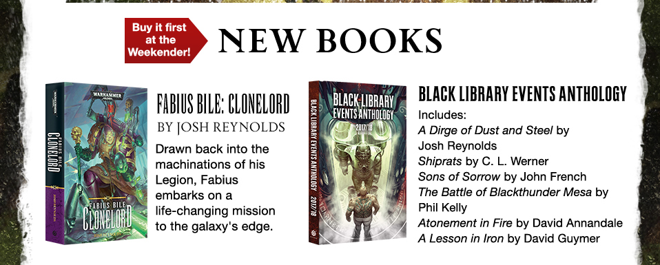 Programme des publications The Black Library 2017 - UK - Page 8 2603571309BLWeekenderpage03