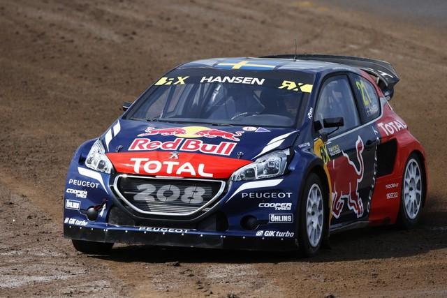 Les PEUGEOT 208 WRX Vice-Championne du Monde FIA de Rallycross 260800REN9423