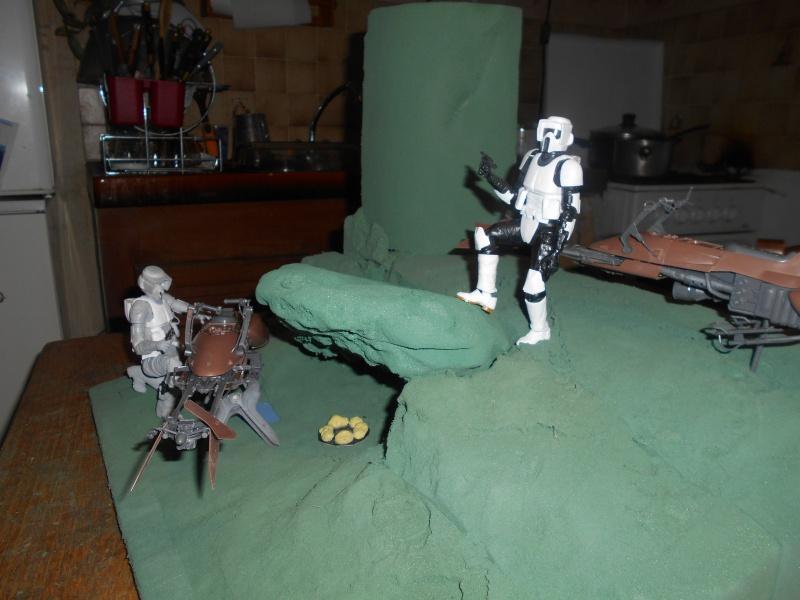 STAR WARS : Endor diorama - Page 2 260988DSCN0919