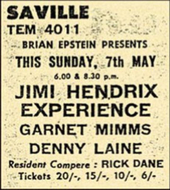 Londres (Saville Theatre) : 7 mai 1967 [Second concert] 2609970705ad328