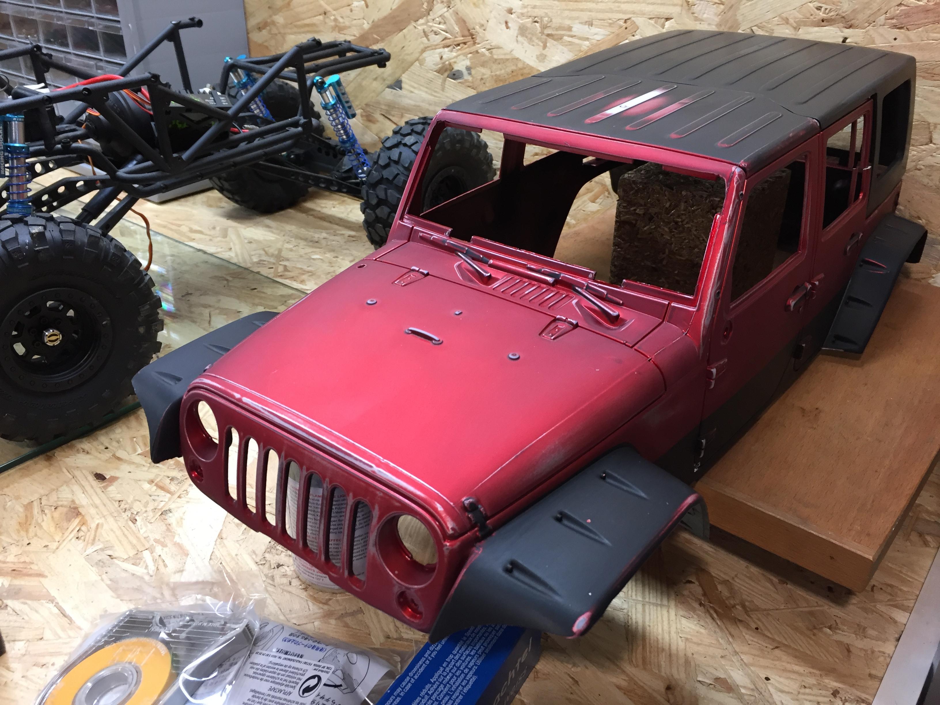 Jeep Rubicon Wraith New Bright 2624529911