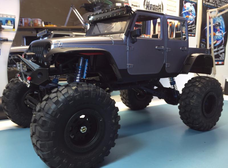 Jeep Rubicon Wraith New Bright 2632316628