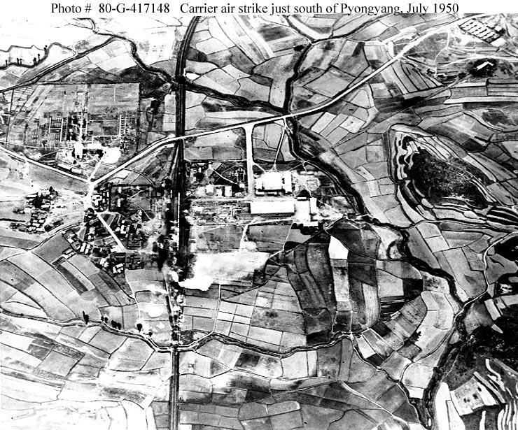 GRUMMAN F9F PANTHER  263558bombardement_de_Pyonyang
