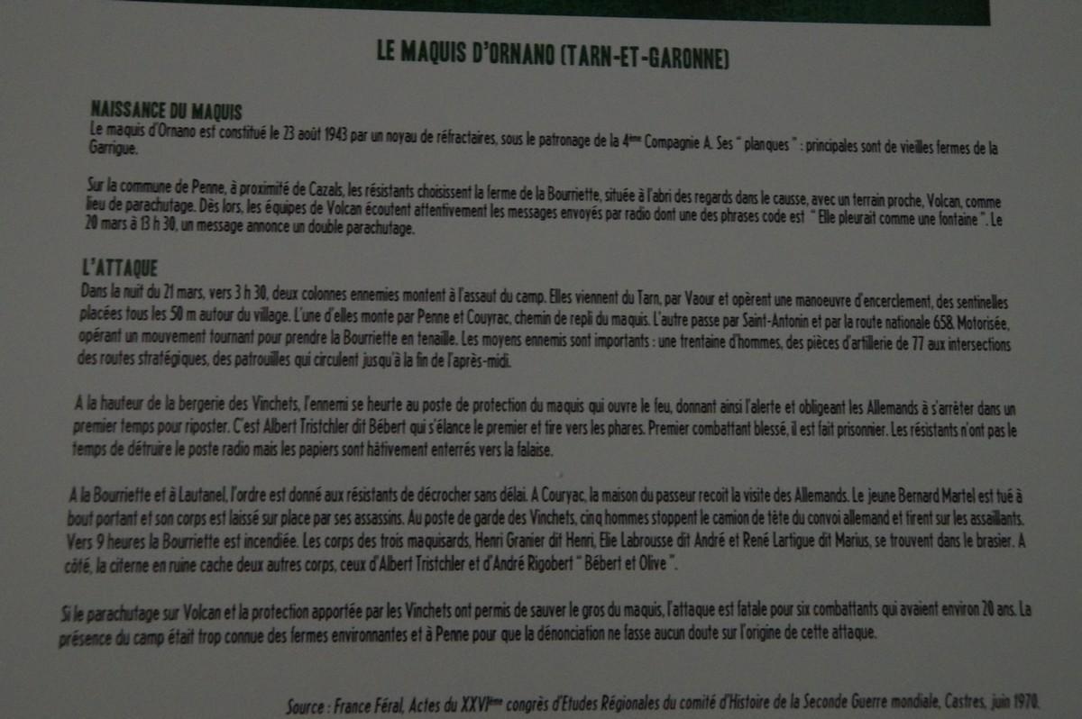 [ Histoire et histoires ] Musée de la résistance et du combattant à Montauban 266090DSC07573
