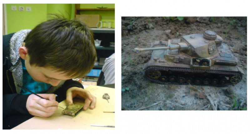 Première maquette de Mélisande (8 ans) 266953bastienmaquettepz32011