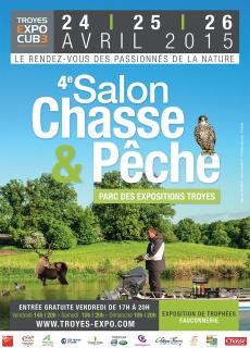Présentation - Troyes Expo Cube - 4eme salon Chasse & Peche 269464AfficheA3BD