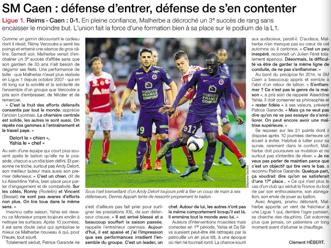 [10e journée de L1] Stade de Reims 0-1 SM Caen  - Page 2 269727reims