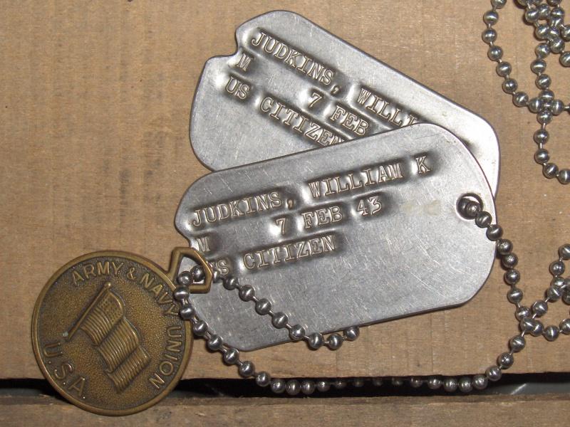 Les Dog Tag U.S. WWII 270910017