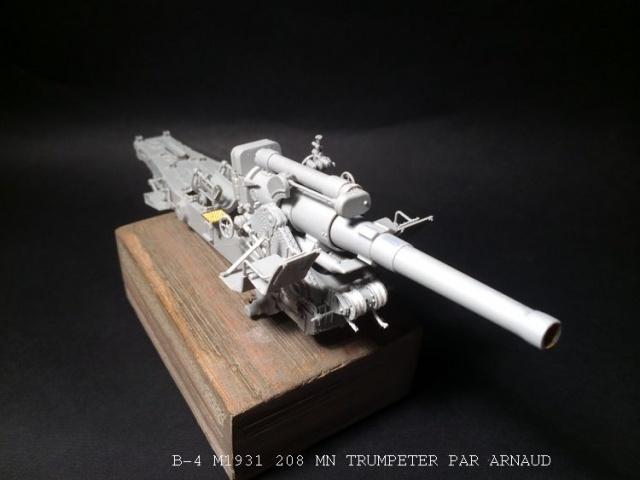 un B-4 M1931 203 mn (le marteau de Staline trumpeter 1/35 271702B4007