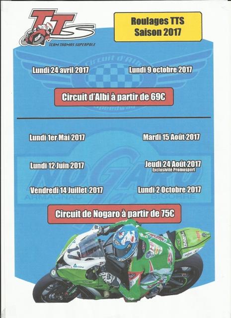 roulages motos, piste, circuit - Page 2 271834agendapiste2017
