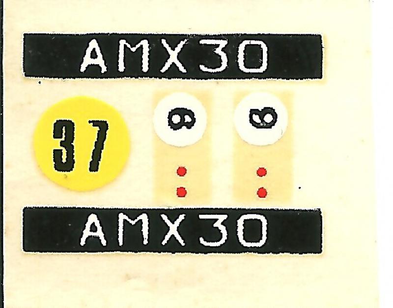 AMX 30 canon de 105 1/35ème Réf L 810 273178HellerAMX30105810013