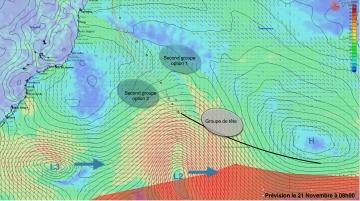 L'Everest des Mers le Vendée Globe 2016 - Page 4 273886previsionpourle21novembrea8h00r360360