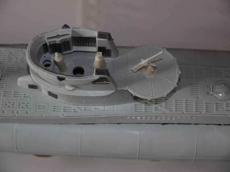 U boat VIIc  Set pe résine Eduard / CMK 275154P1020209