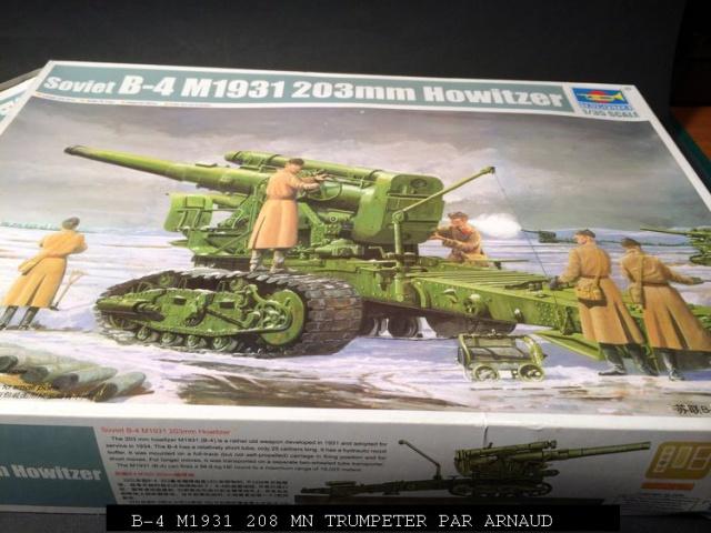 un B-4 M1931 203 mn (le marteau de Staline trumpeter 1/35 276073shridanetplamier010