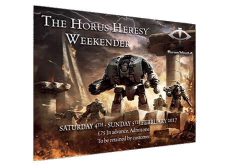 [The Horus Heresy Weekender 2017] - Centralisation des news 277957Ticket