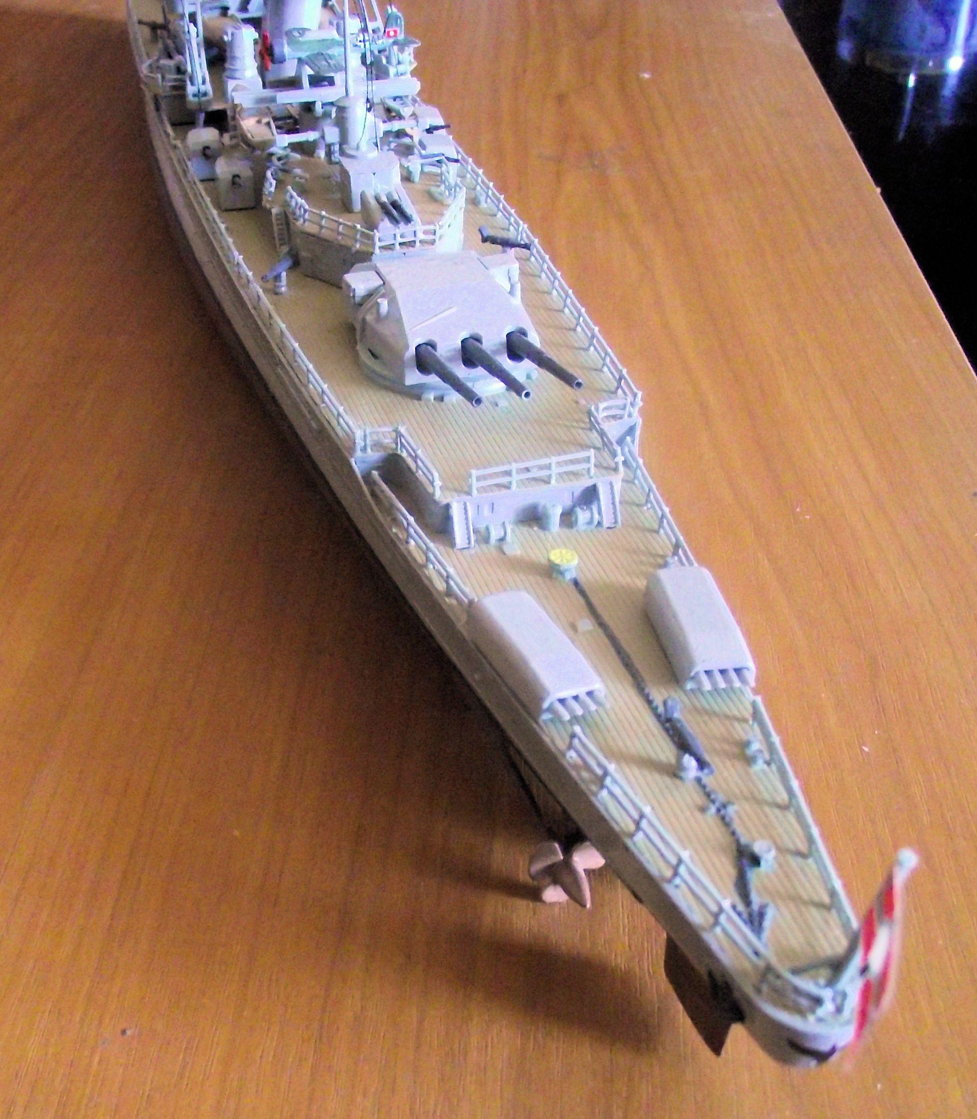 Admiral Graf Spee 1/350 Academy  283251DSCF0802