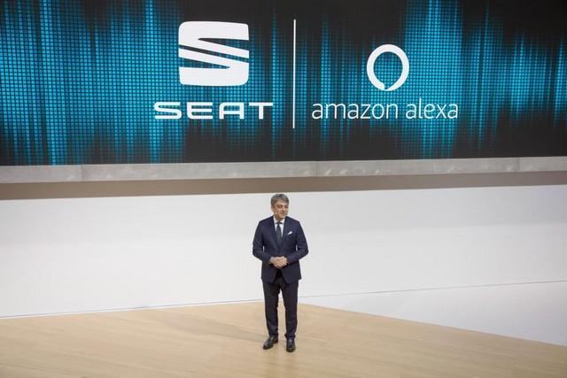 SEAT, première marque automobile en Europe à intégrer Amazon Alexa dans ses véhicules 285327SetRatioSize900650SEATIAA04