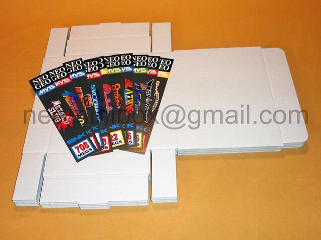 Boites en carton pour ranger les cartouches MVS 28607279589202