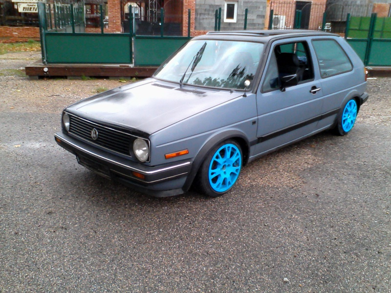"Golf 2 1.6 TD Jr 1988 "" open air""  288021Ext1toitferm"