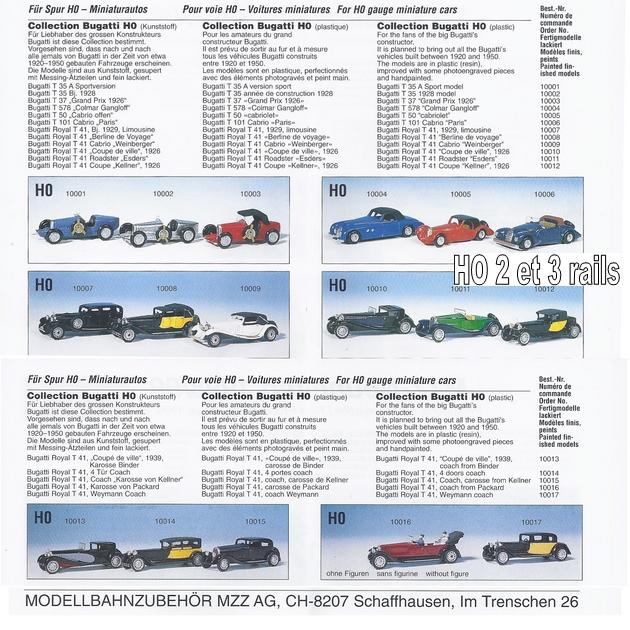 "Wagon porte autos Bugatti ""M. Fritz Schlumpf"" 291419MZZcataloguereconstitu630"