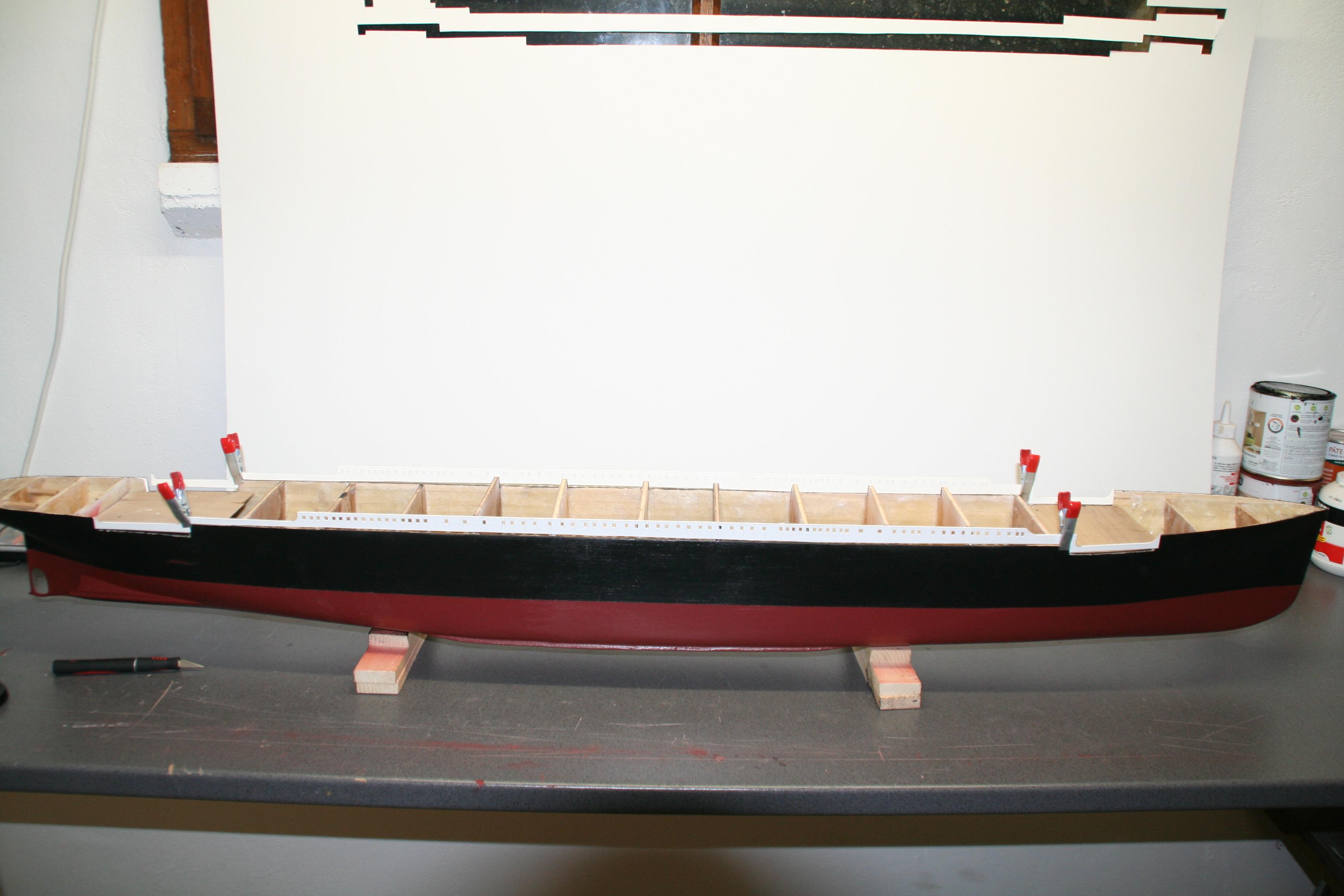 RMS Titanic sur plan   au 1/200 2920805726