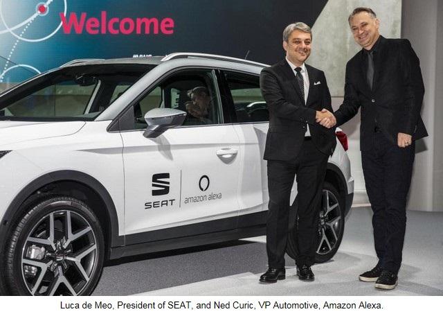 SEAT, première marque automobile en Europe à intégrer Amazon Alexa dans ses véhicules 294289SetRatioSize900650SEATIAA03