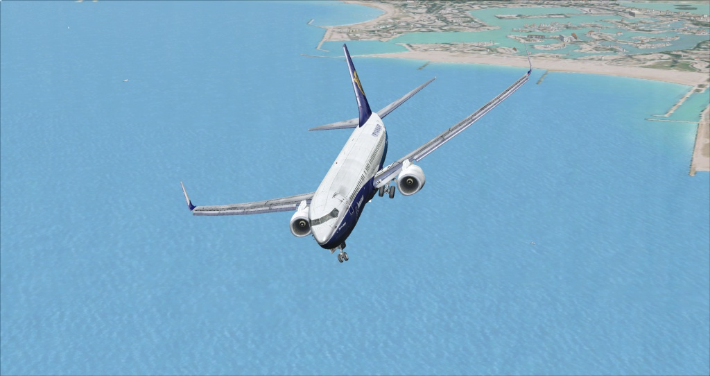 [FSX] Ryanair B737NG sur Montpellier 2951002014617195641385