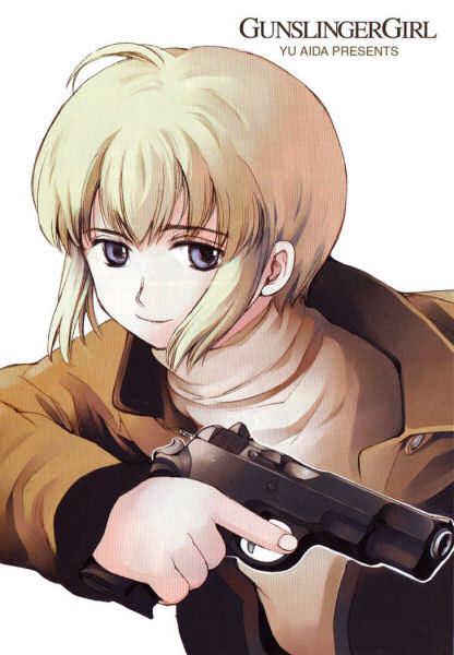 Gunslinger Girl - [MANGA/ANIME] Gunslinger Girl 295829DossierGunslingerGirl201024