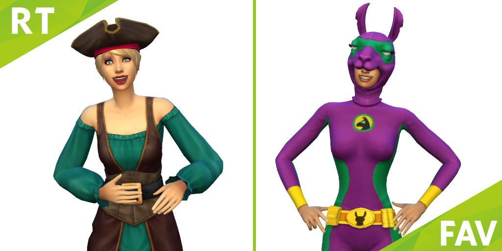 Les Sims 4 Accessoires effrayants [29 septembre 2015] 300451pirate
