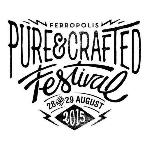 Rendez vous au Pure&Crafted Festival organisé par BMW Motorrad les 28 et 29 août à Berlin 300549purecrafted2015logo