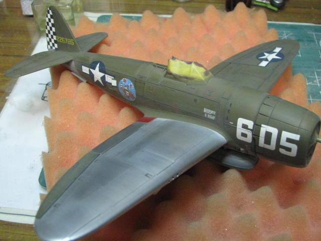 Restauration P-47D Monogram 1/48 .......Terminé!  - Page 2 300564IMG5926