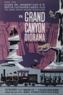 Le Voyage d'Arlo [Pixar - 2015] - Page 2 301923200pxDisneylandGrandCanyonDioramaposter