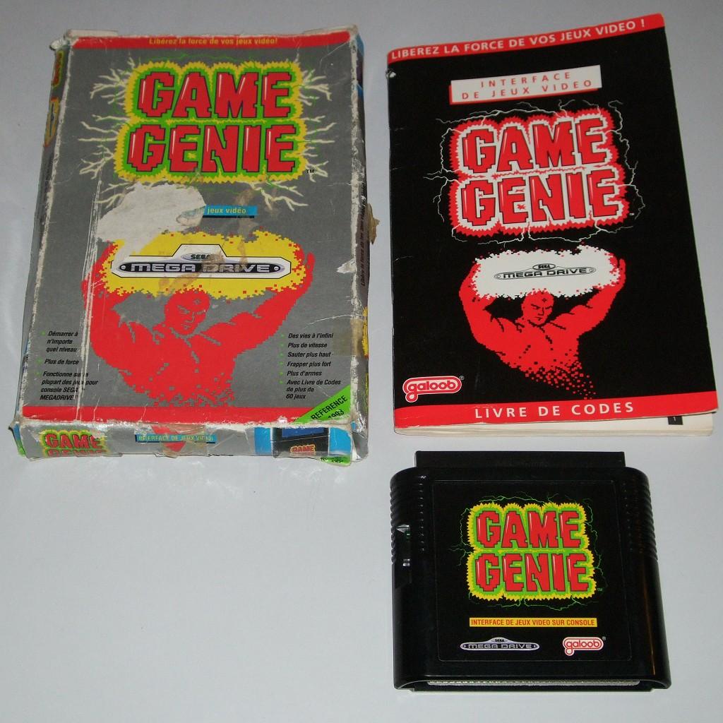 Les differents boitiers de jeux Megadrive 302082collecgamegeniemd