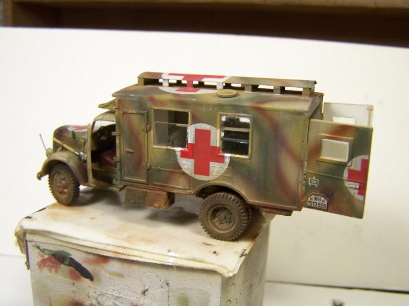 Opel Blitz Ambulance Normandie été 1944 - Page 2 3026181005878