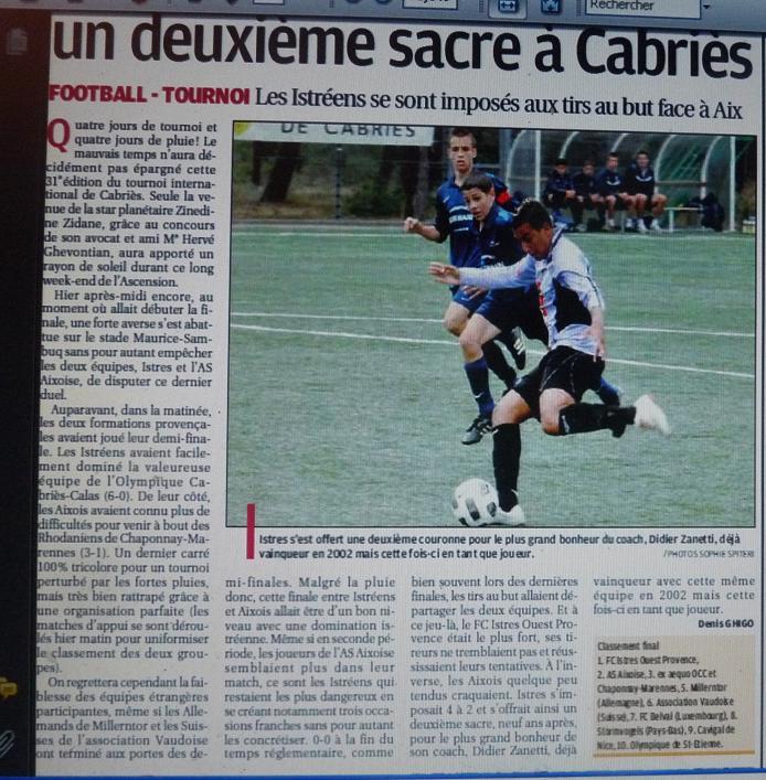 FC ISTRES B  // DHR  MEDITERRANEE  et AUTRES JEUNES  - Page 3 302892P1170901