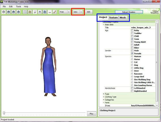 [débutant]Créer vos vêtements - Partie II - Les différents outils du TSRWorkshop 304737672