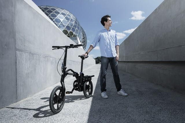 PEUGEOT commercialise son vélo pliant à assistance électrique eF01  3055553PeugeotCycleseF01PhotosComm005