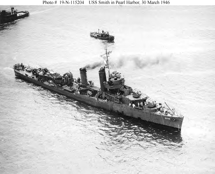 USN DESTROYERS CLASSE MAHAN 306578USSSmith30031946