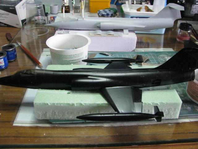 DUO: F-104N (NASA) + F-104G (BAF) Hazegawa 1/48  306971IMG5446
