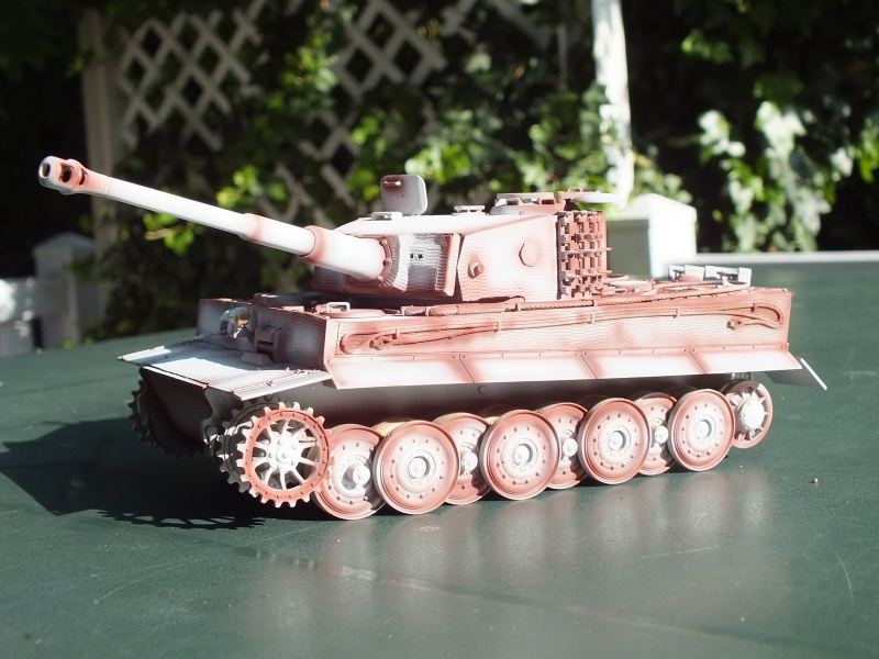 Tiger I Late version ,tamiya 1/35 (début de patine) 307468DSCF5800