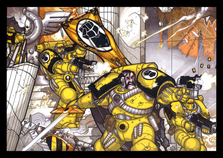 Visions of Warhammer 40K by Aerion the Faithful 308678Imperialfists
