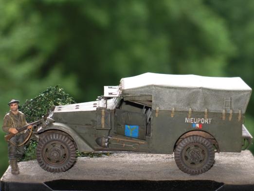 M3 Scout Car - Zvezda 1/35 309682modles31029