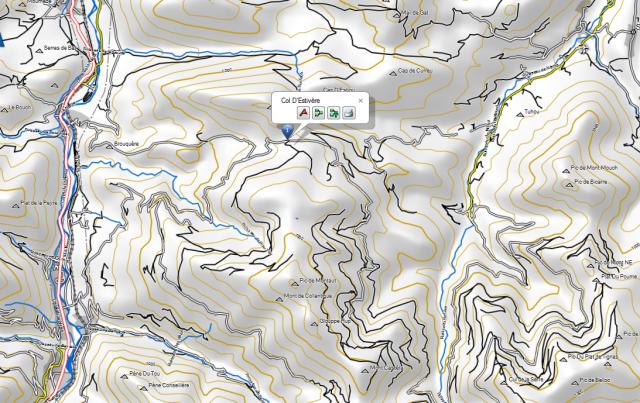 route forestière Nistos Sarrancolin ; col de Beyrede ; ca passe ? 311379CaptureColdEstivre