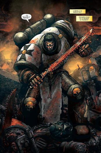 Warhammer 40K en Bande Dessinée (Non Black Library) 312107warhammer1bdpage2