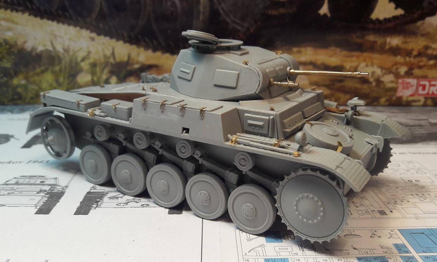 Pz.Kpfw.II Ausf.F - Kharkov 1/35 - Page 2 312816BuildStep3B