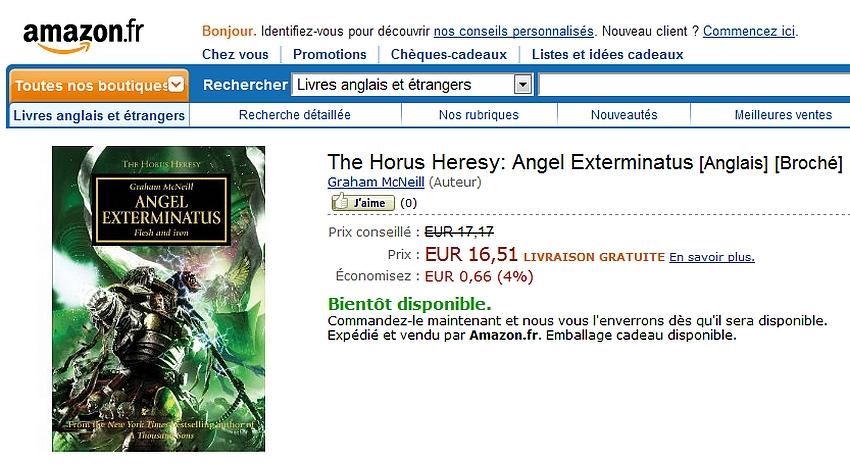 [Horus Heresy] Angel exterminatus de Graham McNeill - Page 3 314229Angelex