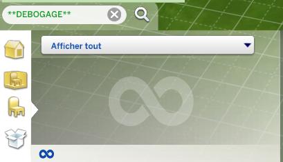 Trouver les objets cachés du jeu Les Sims 4 (le mode débogage / debug) 314379415