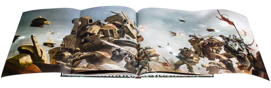 [Space Marine Battles] Visions of War - Artbook 3169985xl
