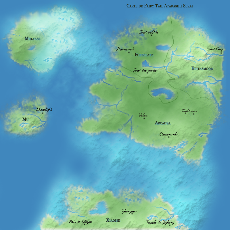 Acarya : la carte du monde 317039carte