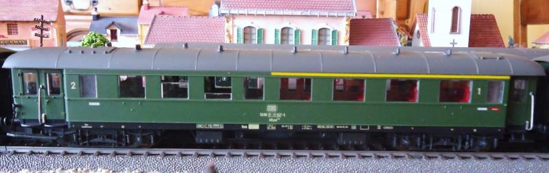 Roco ho: voitures de la DB pour train express 317662DSC03552